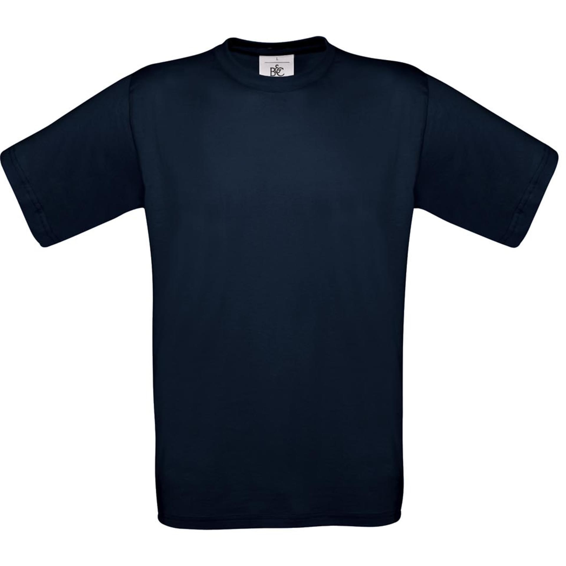 tee shirt personnalis exact 150 b c navy. Black Bedroom Furniture Sets. Home Design Ideas