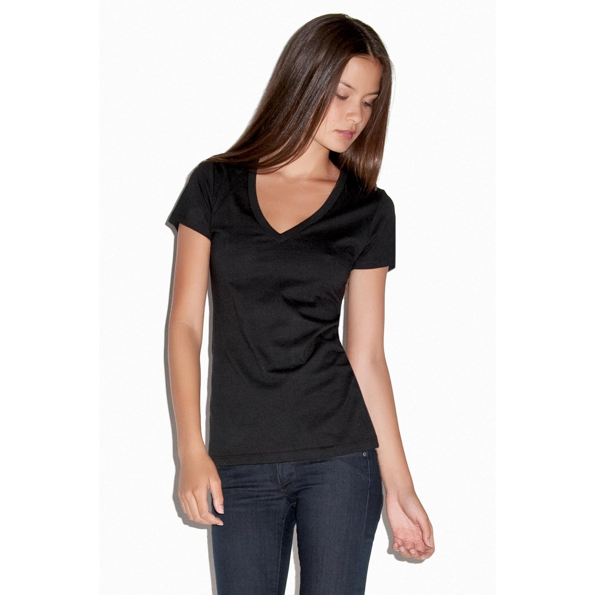 tee shirt personnalis jersey deep v neck t shirtt shirt. Black Bedroom Furniture Sets. Home Design Ideas