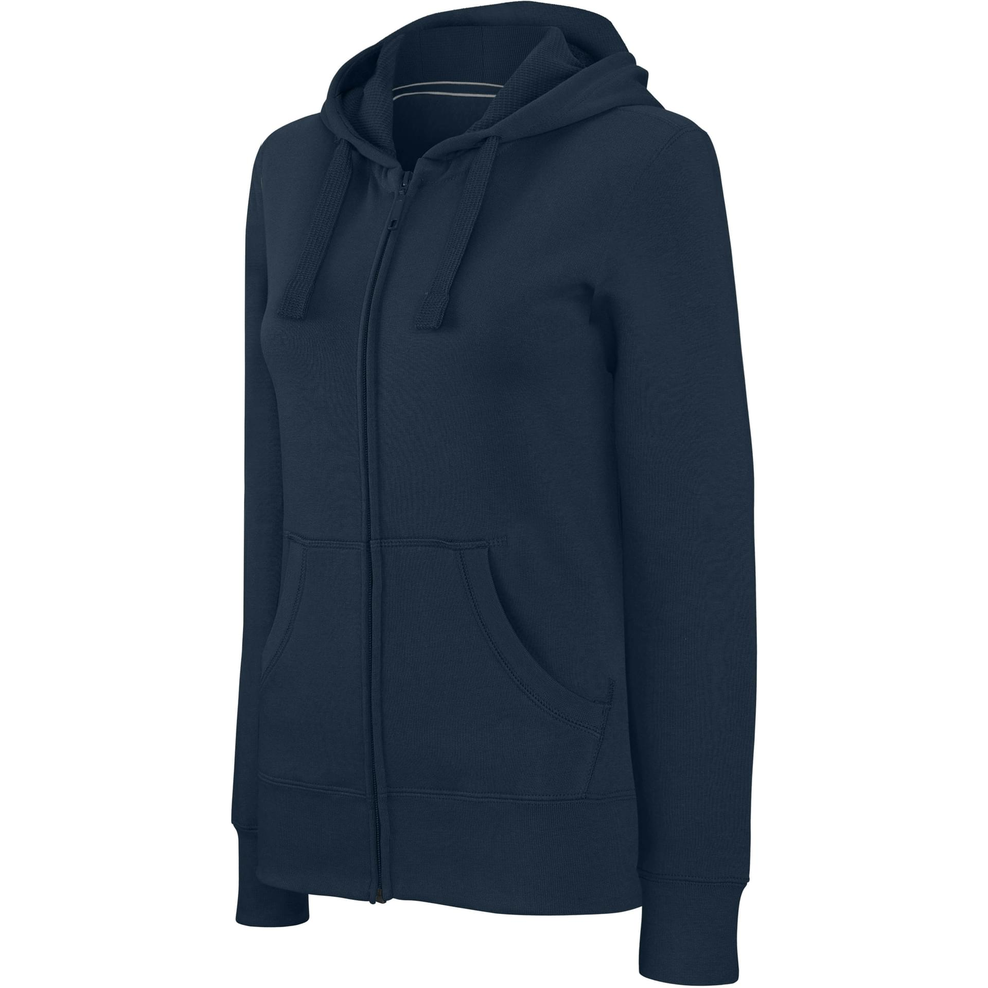 Sweat personnalisé sweat-shirt zippé capuche femme kariban navy cf8e0c798c1
