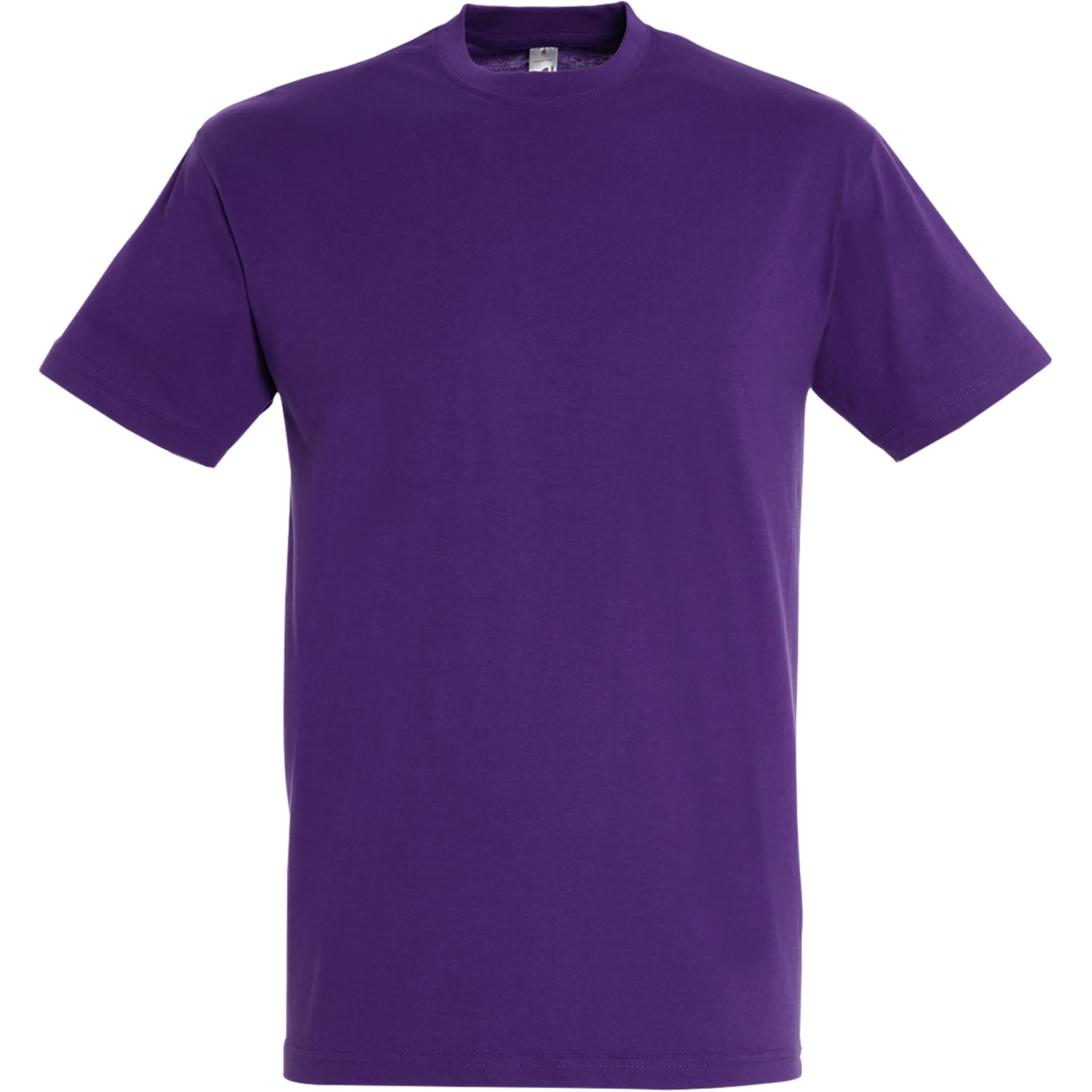 Tee shirt personnalis regent sol 39 s violet fonce - Couleur violet fonce ...