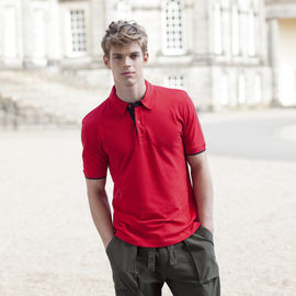 MEN'S CONTRAST POLO SHIRT