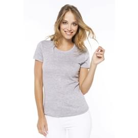 T-Shirt col rond manches courtes femme