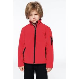 Veste enfant Softshell KARIBAN