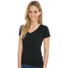Penny - Women`s Organic V-Neck T-Shirt
