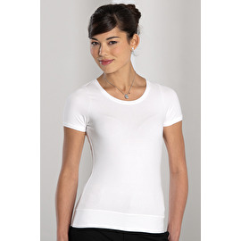 Short sleeve Stretch Top T-shirt Femme Stretch manches courtes
