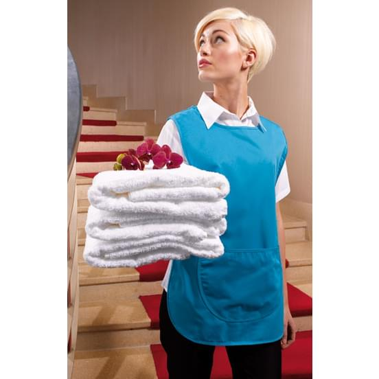 tenue de travail personnalis chasuble femme premier white. Black Bedroom Furniture Sets. Home Design Ideas