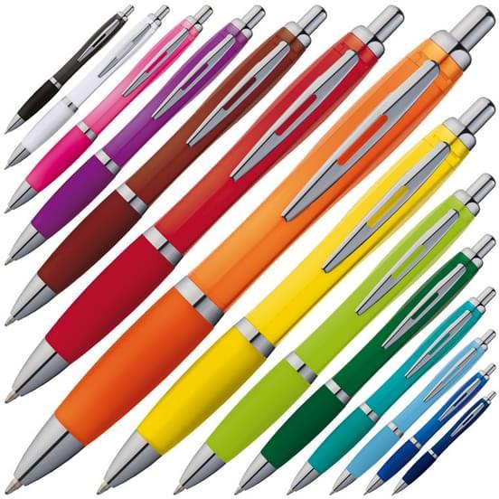 stylo personnalis stylos bille anti d rappant pack de 50 stylos sans blanc. Black Bedroom Furniture Sets. Home Design Ideas
